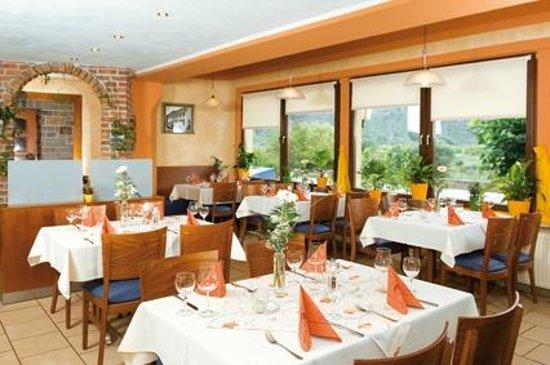 Bremm, Germany: a la carte Restaurant