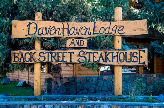 Daven Haven Lodge & Cabins: Welcome to Daven Haven Lodge