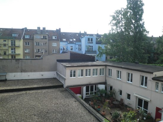 Lessing Hotel: view from room