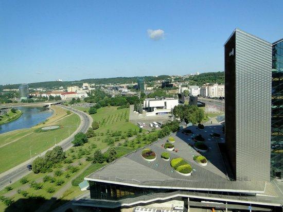 Radisson Blu Hotel Lietuva: View from 11th floor