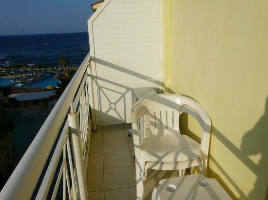 Eri Beach & Village : vue balcon