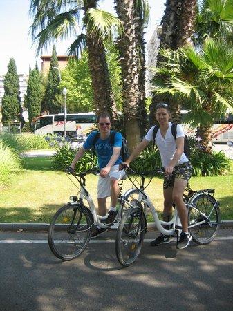 e-Bike Rent Tours : waren sogar nur zu zweit