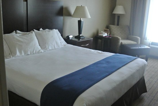 Holiday Inn Express Hotel & Suites Merced: CHAMBRE