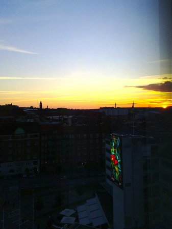 Gothia Towers: View from our room