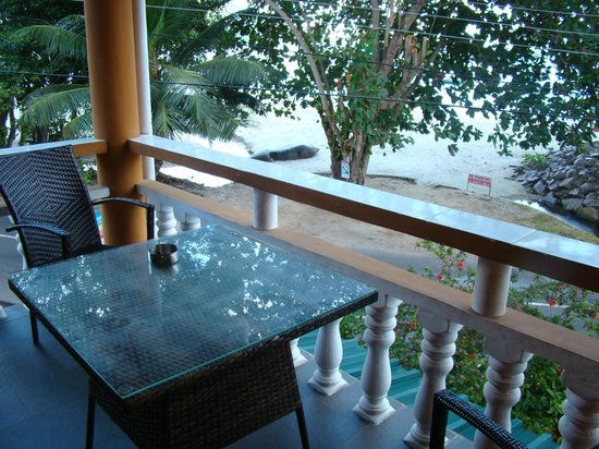 Georgina's Cottage Beach Guesthouse: Balkon