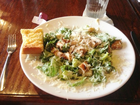 B Merrell's: Grilled Chicken Caesar salad
