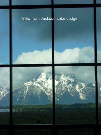 Jackson Lake Lodge : View from the Lodge