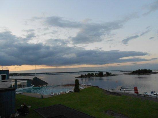 Best Western Hotel Corallen : Utsikt