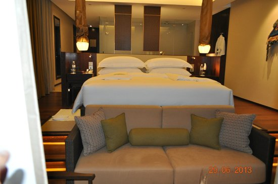 Vana Belle, A Luxury Collection Resort, Koh Samui: Very comfortable bed
