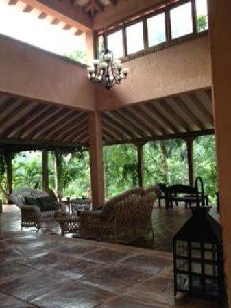 La Villa de Soledad B&B : Open livig room