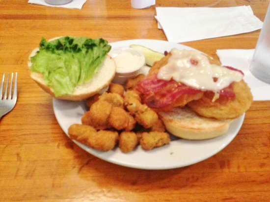 The Yesterday Cafe: Fried Green Tomato BLC sandwich