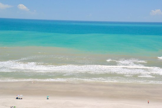 Photograph Of Cocoa Beach From My Balcony
