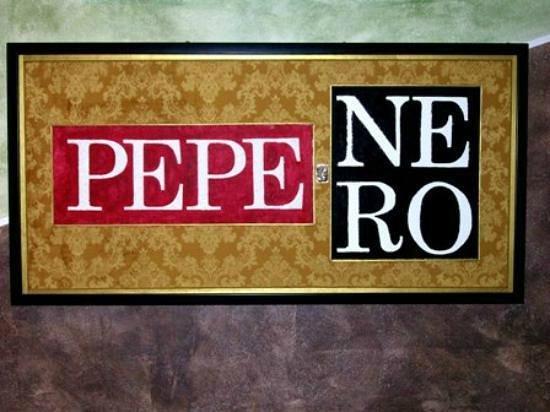 Pepe nero : Logo Ristorante