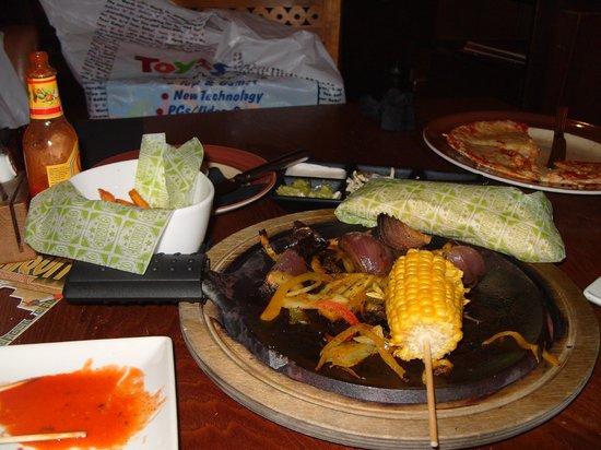 Chiquito - Croydon: Food.....nearly finished