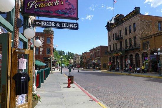 Bullock Hotel & Main Street