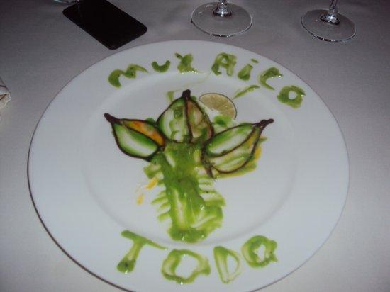Decoraci n de los platos picture of viva wyndham azteca - Decoracion de platos ...