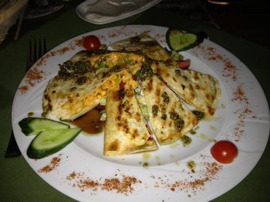 Kale Panorama Restaurant : Forrett: Quesadillas