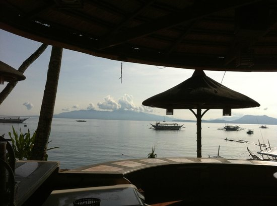 Sabang: The view from the Portofino Hotel