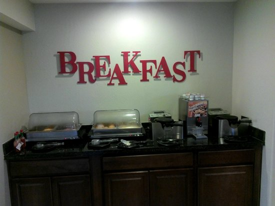 Ramada Tempe/At Arizona Mills Mall: Hot Breakfast