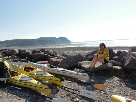 FreshAir Adventure Day Tours: We gathered at low tide for equipment orientation
