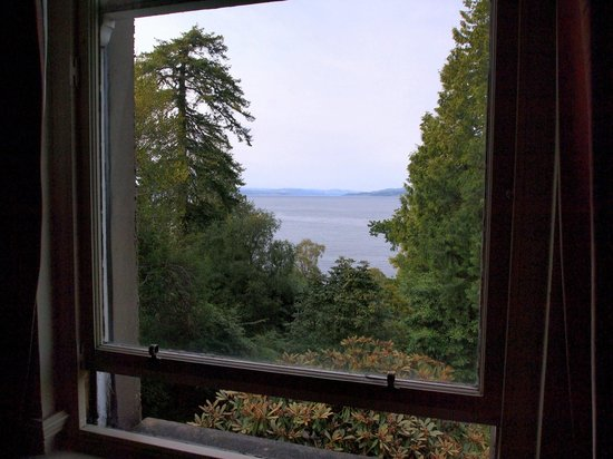 Stonefield Castle Hotel: Room with a view.