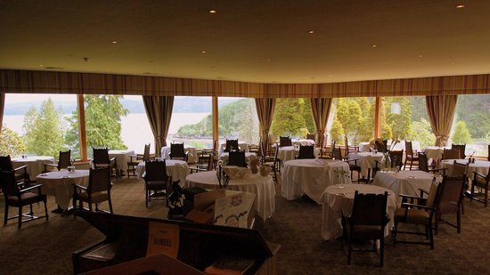 Stonefield Castle Hotel: The fabulous views from the dining room