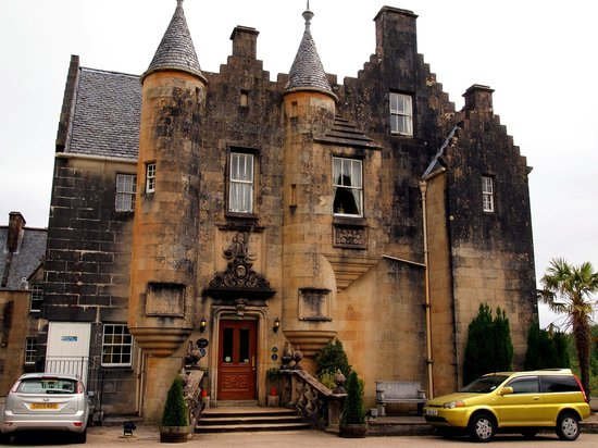Stonefield Castle Hotel: The hotel entrance