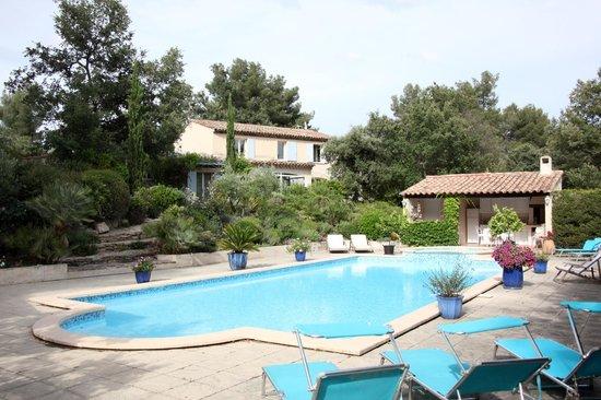Le Marijas : Marijas great swimming pool and jacuzei