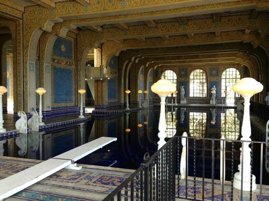 Hearst Castle: indoor pool