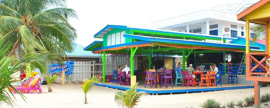 The New Barefoot Bar...... we're back on the beach!