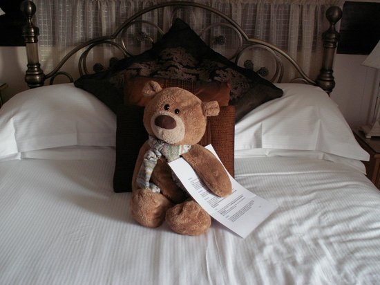Denehurst Guest House: Teddy on the bed