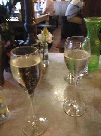 Bluebell: champagne