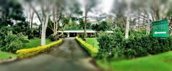 The entrance to the Maleny Hills Motel.