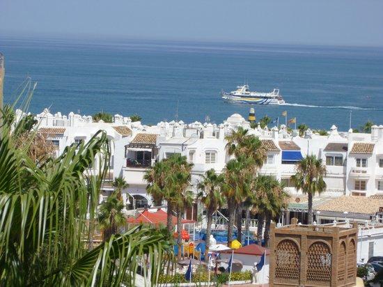 Hotel Palmasol: view from balcony 411