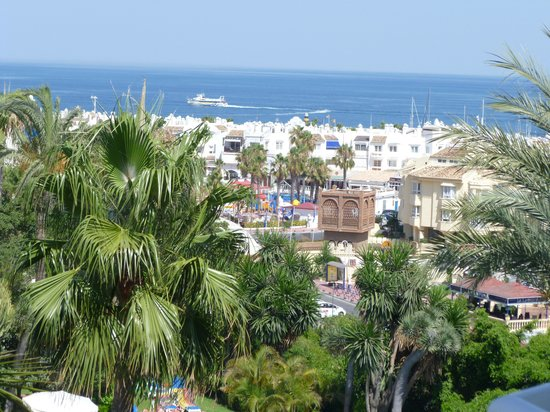 Hotel Palmasol: view from our balcony