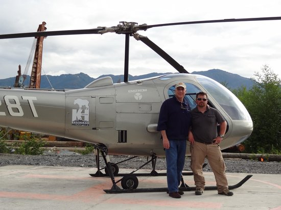 "Ketchikan Helicopters: With Paulo and the ""Mt. Goat""."