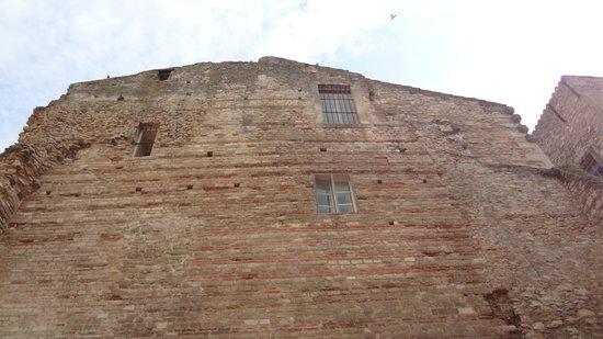 Thermes de Constantin : Bath walls