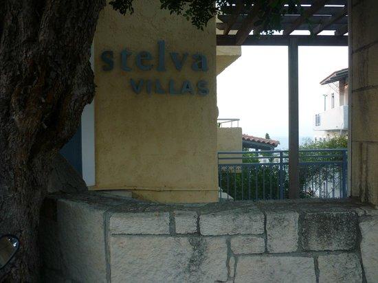 Stelva Villas: devant de l'entrée