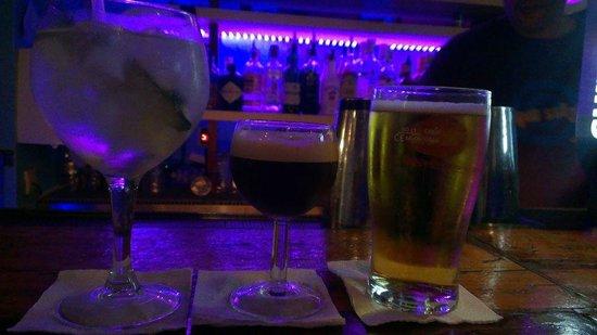 Agua Salgada : Good selection of drinks
