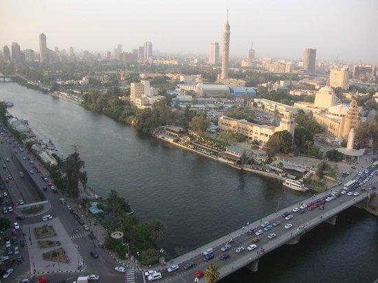 Sheraton Cairo Hotel, Towers & Casino: Visão da sacada do quarto