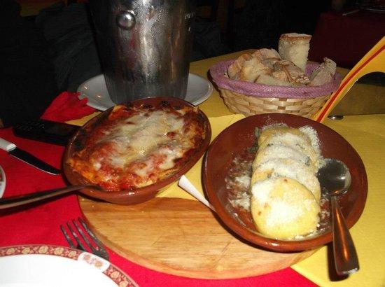 Fraschetteria Brunetti: Ignocchi di patate & lasagna