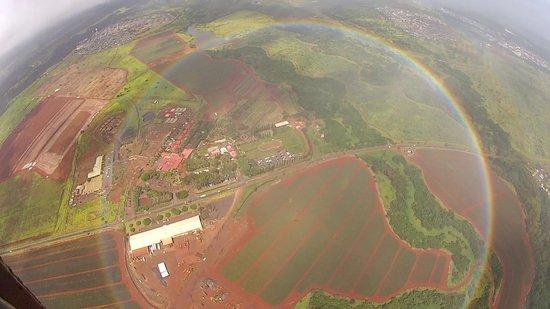 成因航空直昇機觀光照片