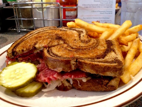 The Stage Stop Family Restaurant: Reuben