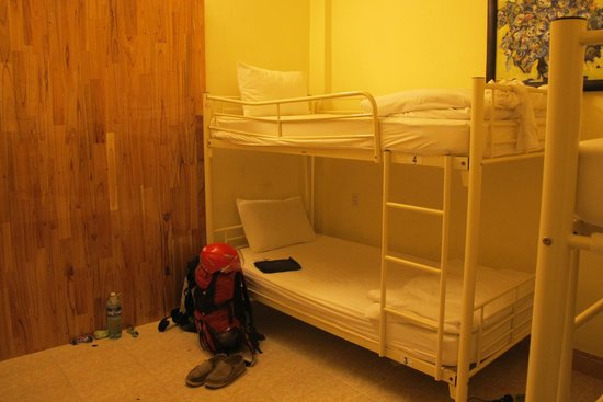 Sunflower Hostel: The room - 6 beds dormitory. Nice.