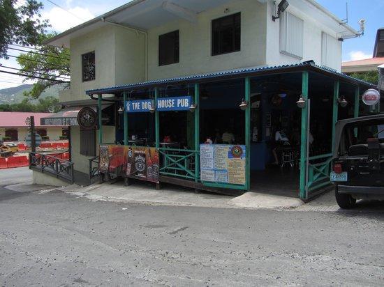 Dog House Pub: street view