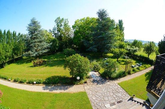 Domaine de Sainte Anne: view from room