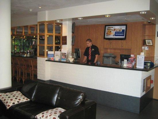 Bastion Hotel Amsterdam Noord: Lobby