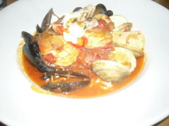Bravo Bravo Restaurant: Délicieux plat de fruits de mer