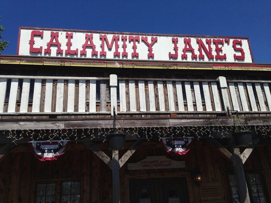 Calamity Jane's Hamburger Restaurant: Beautiful Day in Sandy