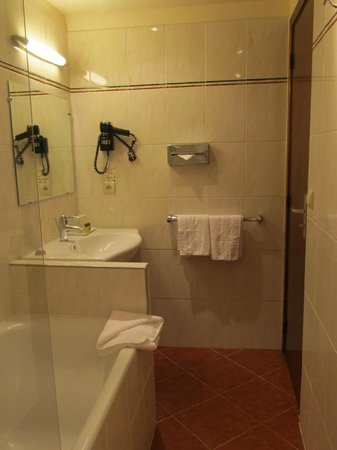 Hotel Saint Petersbourg : large Bathroom